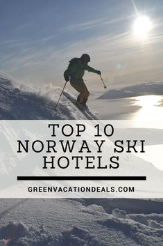 Enjoy a skiing holiday in Norway! Check out the Top 10 Norway Ski Hotels. Norway is full of beautiful places & the long Norway skiing season makes it a great travel destination, so you'll want to know the best places to stay for the best skiing in Norway. Plan an amazing family holiday or romantic getaway & stay at a great Norway hotel! #Skiing #Norway #SkiHoliday #VisitNorway #Europe #Ski #SkiResorts #FamilyTravel #NorwayHoliday #TravelPlanning  #TravelIdeas #Oslo