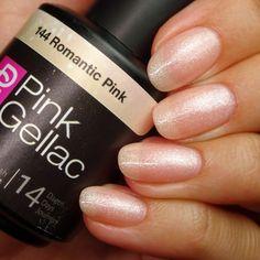 Pink Gellac 144 Romantic Pink Gel-Nagellack via pinkgellac.de