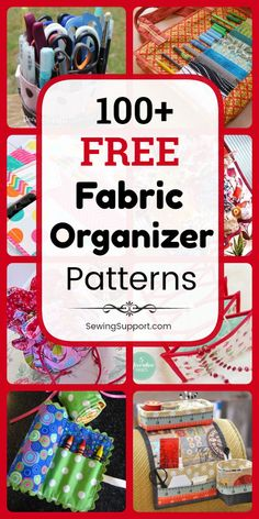 cool storage throughout the patterns for Free Fabric OrganizerFabric Organizer DIY: Over 100 free sewing patterns, DIY projects and Sewing Hacks, Sewing Tutorials, Sewing Crafts, Sewing Tips, Sewing Ideas, Sewing Patterns Free, Free Sewing, Fabric Patterns, Stitching Patterns
