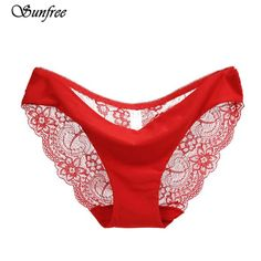 1pcs Hot 100% Lace Secret Panties Women Underwear Briefs Women Sexy Lingerie Womens Cotton Briefs With Lace Edges Back To Search Resultshome