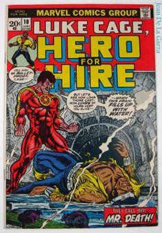 Luke Cage, Hero For Hire #10 Black Mariah Marvel Comics (1973) $7.50 + Shipping