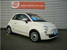 Vente Fiat 500 500 1.2 8v 69ch Lounge Blanc occasion en promotion à Muret à 8990€ TTC ou à partir de 178€ / mois en LOA