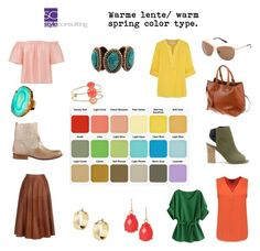"""""""Warme lentetype/ warm spring color type."""" By Margriet Roorda-Faber."""