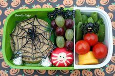 Spider Halloween Bento Lunch