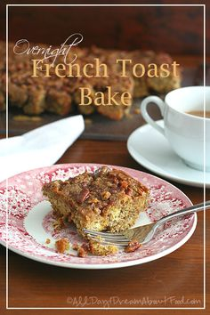 Healthy Gluten-Free French Toast Bake - homemade almond flour pan bread is the base of this delicious brunch recipe.