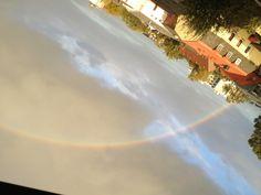 Rainbow over Pinneberg, Germany on October 2012 Germany, October, Rainbow, Rainbows, Rain Bow, Deutsch