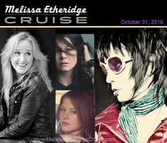 ⚓️ ⚓️ ⚓️  Melissa Etheridge and Friends Cruise artist lineup includes JOAN JETT & THE BLACKHEARTST, CRYSTAL BOWERSOX,  SONIA LEIGH and many more. Full lineup: melissaetheridgecruise.com Reservations: https://dutchmen.rezmagic.com/Booking/Reservation/Start?tripID=3694