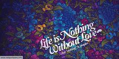 La vida sin amor no es nada, una hermosa portada para twitter
