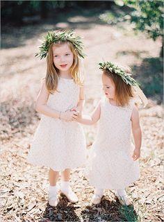 flower girls #flowergirls @weddingchicks