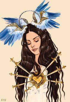 Lana Del Rey #art by Arthur Shahverdyan