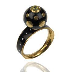 Benares Spot Ring