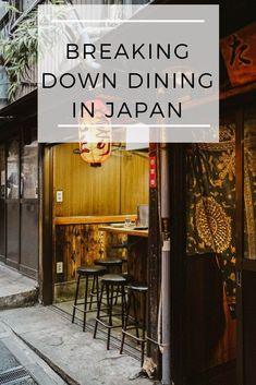 Breaking Down Dining in Japan - Learn about all the classic dishes of Japanese cuisine as well as th Go To Japan, Visit Japan, Japan Trip, Tokyo Trip, Japan Japan, Okinawa Japan, Japan Travel Tips, Asia Travel, Traveling Europe
