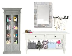 """""""make-up room"""" by fleur-tje on Polyvore featuring interior, interiors, interior design, thuis, home decor, interior decorating, Safavieh, Anna Sui, Lancôme en Marc Jacobs"""