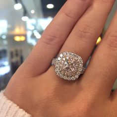 Halo engagement rings all day!                                                                                                                                                                                 More