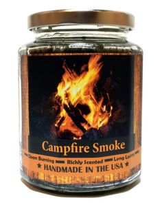 Campfire Smoke Wood Wick Candle, 8 oz Super Scented Natural Wax Candle, Burning Wood Fireplace Candle ** You can find out more details at the link of the image. Candles In Fireplace, Wood Wick Candles, Wood Fireplace, Best Candles, Candle Wax, Soy Candles, Scented Candles, Fireplaces, Handmade Candles