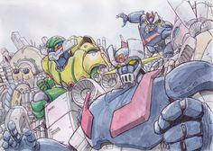 Robot-heros by NORIMATSUKeiichi