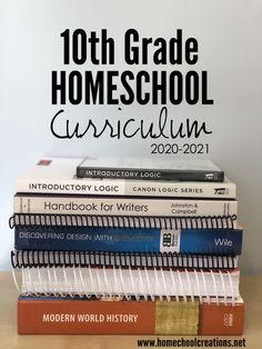 10th Grade Homeschool Curriculum Picks