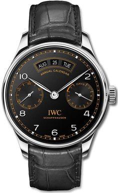 IWC Portugieser Annual Calendar Edition Pisa - Экзклюзивные часы IWC с календарем | Luxurious Watches