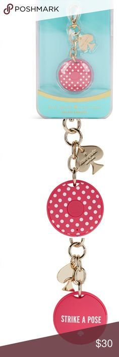 Kate Spade 📷✨😁 Bluetooth Selfie Remote Cute Kate Spade Bluetooth remote lets you take selfies with friends and get everyone in the picture! Strike a pose! kate spade Accessories