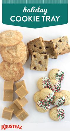 Holiday cookie exchanges are all the rage—who wouldn't love swapping their favorite recipes with friends and family?! Check out this Holiday Cookie Tray to get inspiration for this tasty Christmas tradition. Using Krusteaz Snickerdoodle Cookie Mix, it couldn't be easier to celebrate this festive occasion in the most delicious way.