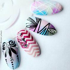 #manicure #nails #nail #nailart #nailpolish #icon #wzorki #wzorkinapaznokcie #wzornik #indigonails #semilac #rapidograf #rapidoart #hybrydy #hybryda #pazurki #paznokcie #hybridnails #paznokciehybrydowe #hybrid #neonail #Sandomierz