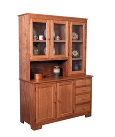 Shaker Amish Hoosier Hutch Right By Simply Amish