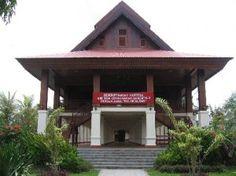 25.Province Gorontalo Indonesia - Dolohupa Traditional House