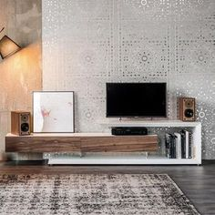 Tv Stand 44 Modern TV Stand Designs for Ultimate Home Entertainment Tags: tv stand ideas for small living room, tv stand ideas for bedroom, antique tv stand Modern Tv Cabinet, Tv Cabinet Design, Tv Unit Design, Tv Console Modern, Living Room Cabinets, Living Room Tv, Living Room Furniture, Tv Cabinets, Tv Stand Modern Design