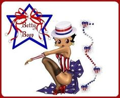 betty boop memorial day graphics