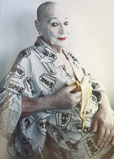 Lindsay Kemp photographed by Tim Walker for C☆NDY MAGAZINE 9th Issue