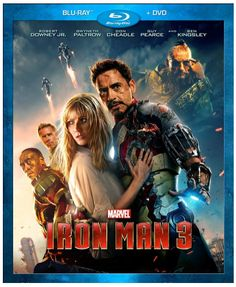 What a great price!  This would be a great gift for Father's day. Or mother's day in my house lol! Iron Man 3 on Blu-ray - Marvel Movies - A Thrifty Mom
