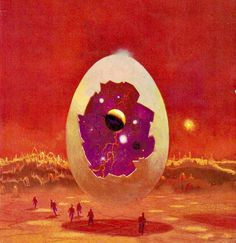 Repost ( ・・・ Art by Paul Lehr for Jack Williamson's Les Planètes en Sursis (English title: The Trial of Terra) Le Masque Science Fiction alien egg paullehr jackwilliamson scifiart scifibooks bookart fantasyart bookcover William And Son, 70s Sci Fi Art, Science Fiction Art, Color Theory, Psychedelic, Fantasy Art, Horror, Instagram Posts, Illustration