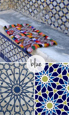 Moroccan Tiles - Sublime in smaller dosis | KOUBOO.com - Well Traveled Home Decor & Interior Design | Scoop.it