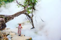 """Loosely translated from Quechua as """"Boiled with the heat of the sun,"""" Shanay-timpishka is a boiling river located deep in the Peruvian rainforest. While hot springs are a pretty common occurrence, an actual boiling river is a lot more uncommon… Especially one that is 25 meters (82 feet) wide, 6 meters (20 feet) deep, and nearly 6.5 kilometers (4 miles) long. Normally, a geothermal event like a boiling river is only possible near a volcano, but Shanay-timpishka manages to have temperatures…"""