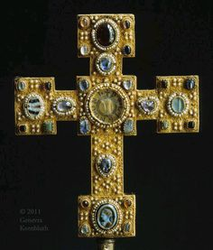 Reliquary Cross from Sitifskirche of St. Denis in Enger, Berlin, Kunstgwerbe Museum