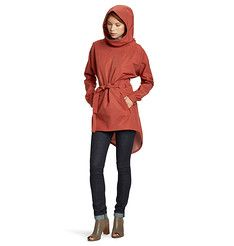 Poncho Via -- Women's Waterproof, Breathable Organic Cotton and Recycled Poly Poncho -- Nau.com