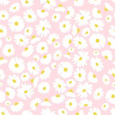 Add a touch of whimsy and a pop of color to your wall with this adorable wallpaper covered in a field of daisies atop a pink ground. Simply peel and stick this fanciful, temporary wallpaper to any wall in your room. Daisy Wallpaper, Spring Wallpaper, Pink Wallpaper Iphone, Kids Wallpaper, Iphone Wallpaper Tumblr Aesthetic, Aesthetic Backgrounds, Aesthetic Wallpapers, Flower Backgrounds, Wallpaper Backgrounds