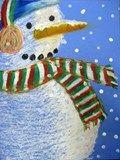 Artsonia Art Exhibit :: 5: Snowman Portraits