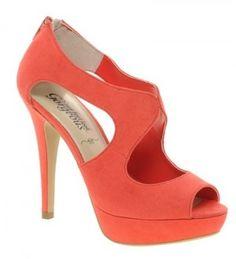 chaussures orange été 2013