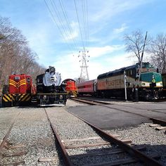 Some vintage shots. We will post pictures showing our past 50 years. #morriscountycentral #whippany #nj #njtrains #vintage #newjersey #trains #train_nerds #trains_worldwide #daily_crossing #railfan #railroad #railroads #rail_barons #rsa_theyards #50th #anniversary #locomotive #steamengine #caboose by whippanyrailwaymuseum