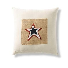Americana Star Pillow from Grandinroad Catalog