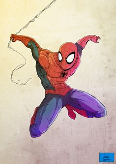 Marvel Character Illustrations - Created by Vicente Valentine