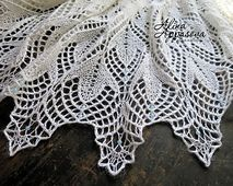 Ravelry: Wild Geese Lace Shawl pattern by Alina Appasov