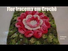 Passo a passo Flor em Crochê Iracema