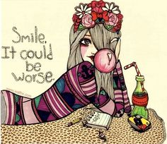 smile!  Valfre illustrations
