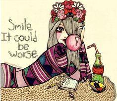 smile!  Valfre illustrations