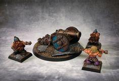 Dwarf Cannon #warhammer #whfb #wh #aos #ageofsigmar #sigmar #gw #gamesworkshop #wellofeternity #miniatures #wargaming #hobby