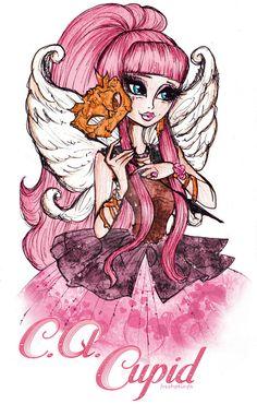 C.A Cupid em baile de mascaras, linda! *0*