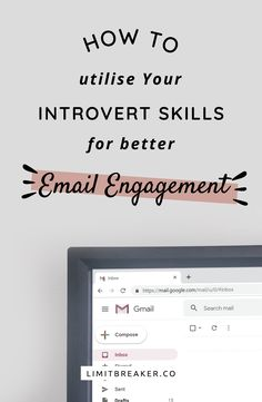 How can an introvert use their skills for marketing? One technique we've found to work for us is a little thing known as email engagement. Email Marketing Design, Email Marketing Campaign, Email Marketing Strategy, Business Marketing, Online Marketing, Content Marketing, Marketing Ideas, Creative Marketing, Business Tips