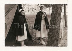 Vintage Photos of Women in WWII Military Nurses by TheFlyingBroom, $4.00